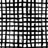 Checkered seamles картина, картина вектора в стиле руки вычерченном иллюстрация вектора
