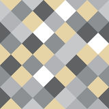 Checkered seamless background pattern. Mosaic / squares checkered pattern - seamless background texture Royalty Free Stock Images