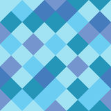Checkered seamless background pattern. Mosaic / squares checkered pattern - seamless background texture Royalty Free Stock Photography