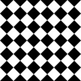 Checkered seamless background pattern of squares in diagonal arrangement Royalty Free Stock Image