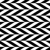 Checkered seamless pattern with alternating parallelogram. Optic Royalty Free Stock Image