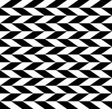 Checkered seamless pattern with alternating parallelogram. Optic Royalty Free Stock Photo