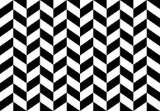 Checkered seamless pattern with alternating parallelogram. Optic Royalty Free Stock Images