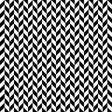 Checkered seamless pattern with alternating parallelogram. Optic Royalty Free Stock Photos