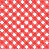 Checkered seamless pattern red and white. Vector diagonal cell holiday surface design background. Checkered seamless pattern texture red and white. Vector vector illustration