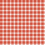 Checkered seamless table cloths pattern Stock Image