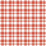 Checkered seamless table cloths pattern Stock Photo