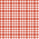 Checkered seamless table cloths pattern Royalty Free Stock Photography