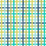 Checkered seamless vector pattern Royalty Free Stock Photography