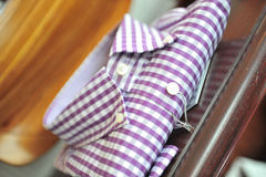 Checkered Shirt Stock Images