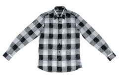 Checkered shirt Royalty Free Stock Photography