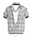 Checkered shirt Royalty Free Stock Photos
