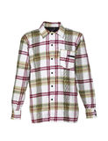 Checkered shirt for men. Studio-shot of checkered shirt for men. The photo is isolated in front of a white background royalty free stock images