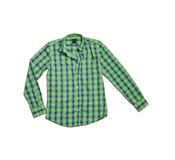 Checkered shirt Royalty Free Stock Images