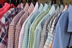 Checkered shirts Royalty Free Stock Image