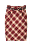 Checkered Skirt Stock Image