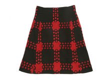 Checkered skirt Royalty Free Stock Photos