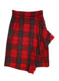 Checkered skirt Royalty Free Stock Images
