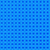 Checkered Squares. Blue square design Royalty Free Illustration