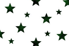 Checkered stars Royalty Free Stock Images