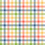 Checkered table cloth background Royalty Free Stock Photo