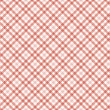 Checkered table cloth background Royalty Free Stock Photography