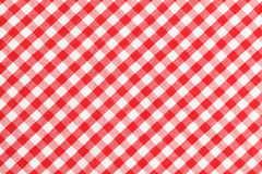 Checkered Table Cloth Royalty Free Stock Image