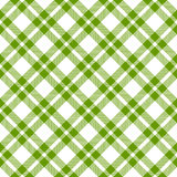 Checkered table cloths pattern - endless Royalty Free Stock Photography