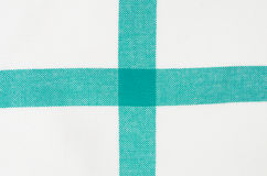 Checkered tablecloth detail Royalty Free Stock Photography