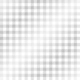Checkered tablecloth pattern SILVER - endless Stock Photos