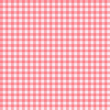 Checkered Tablecloth Seamless Pattern Background Royalty Free Stock Photos
