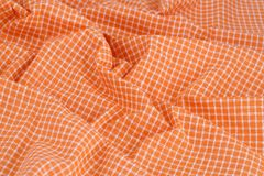 Checkered tablecloth texture stock images