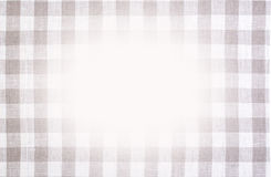 Checkered tablecloth texture Royalty Free Stock Photos