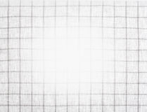 Checkered tablecloth texture Royalty Free Stock Photography