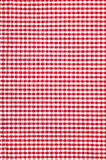 Checkered tablecloth texture background Royalty Free Stock Photos