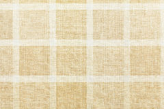 Checkered tablecloth. Texture of vintage checkered tablecloth Stock Photography