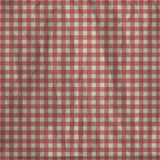 Checkered tablecloth vintage Stock Photo