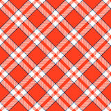 Checkered tablecloths pattern - endless Stock Photography