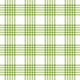 Checkered tablecloths pattern green - endless Royalty Free Stock Images
