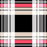 Checkered tartan plaid pattern. Background Royalty Free Stock Photography