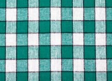 Checkered textile background Stock Photos
