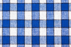 Checkered Textilhintergrund Stockbild