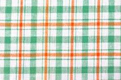 Checkered Textilhintergrund Lizenzfreies Stockbild