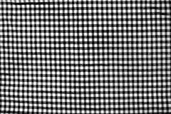 Checkered Textilhintergrund Stockfoto