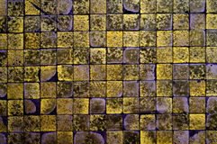 Checkered texture. Old checkered texture, bathroor floor Royalty Free Stock Image