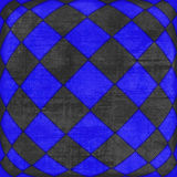 Checkered texture 3d Royalty Free Stock Image