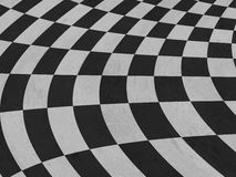 Checkered texture Stock Photography