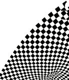Checkered texture 3d background. Checkered texture 3d abstract background Royalty Free Stock Photos