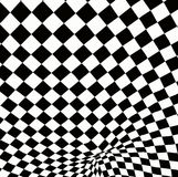 Checkered texture 3d background Stock Image