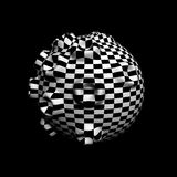 Checkered texture Royalty Free Stock Photography